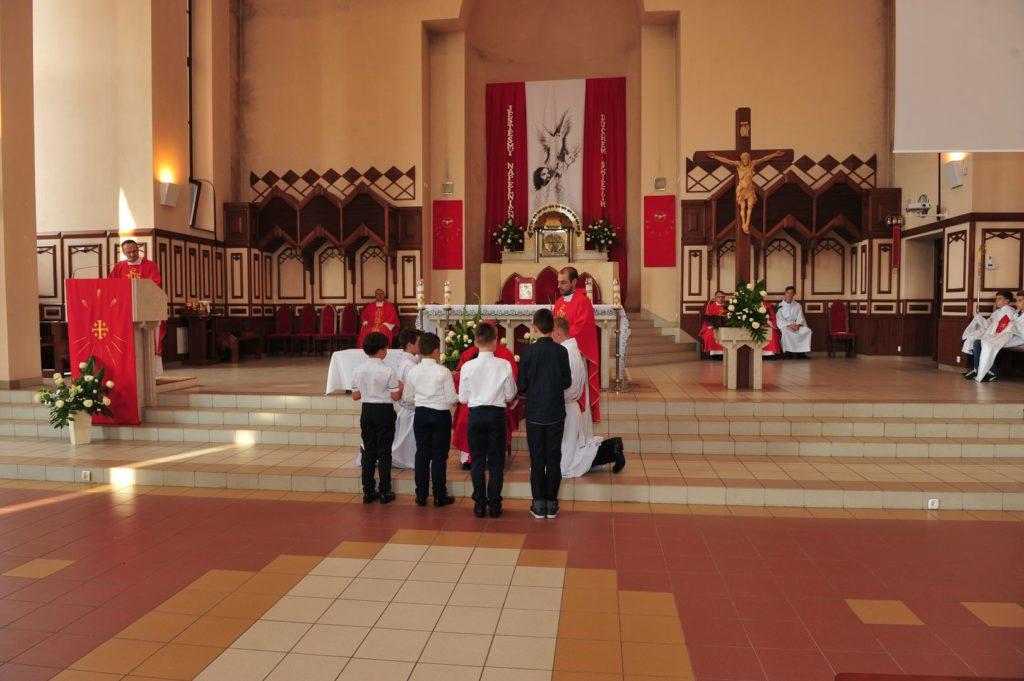 Przyjęcie kandydatów do Liturgicznej Służby Ołtarza 25.05.2018