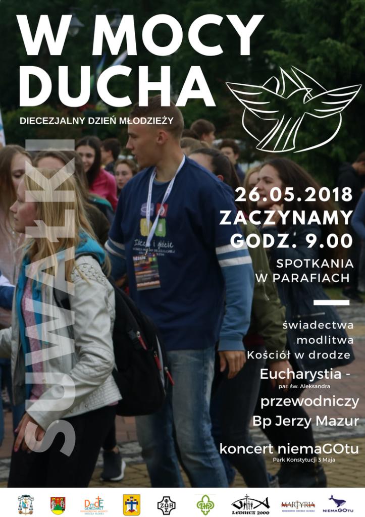 Diecezjalny Dzień Młodzieży w Suwałkach 26.05.2018