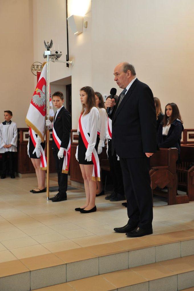 Uroczystość poświęcenia sztandaru i nadania imienia Szkole Podstawowej nr 11 z Oddziałami Integracyjnymi w Suwałkach