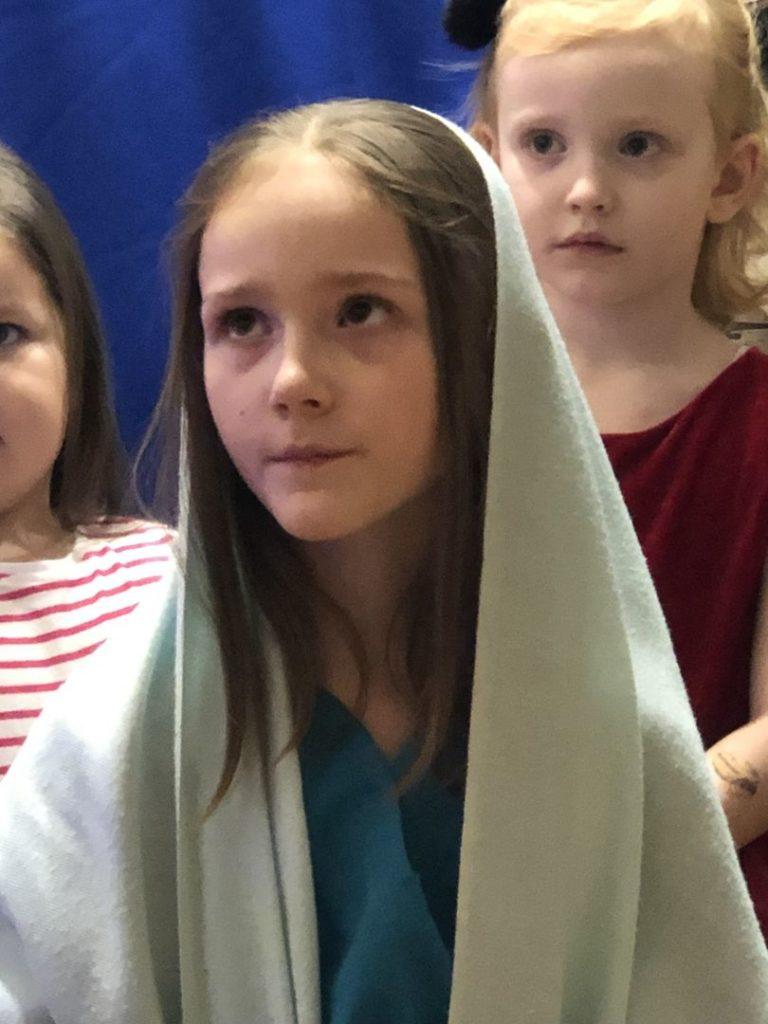 Jasełka 2018 w Prudziszkowej szkole