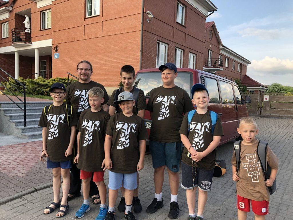 Zjazd ministrantów z franciszkańskich parafii Prowincji Warszawskiej 2019