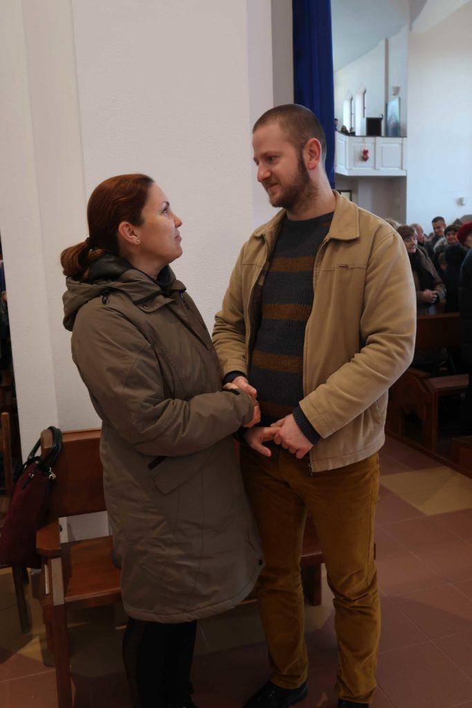 Odnowienie przyrzeczeń małżeńskich w Niedzielę Świętej Rodziny 29.XII.2019